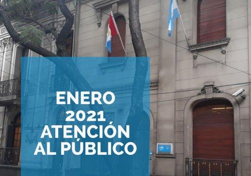 Atención al Público Enero 2021